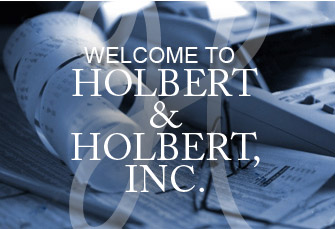 Welcome to Holbert & Holbert, PA